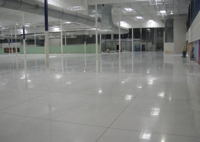 Green Umbrella Concrete Projects for Warehouse Facilities