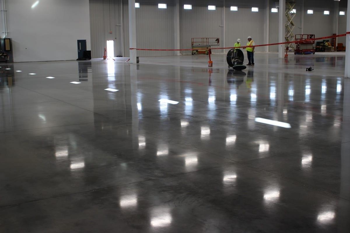 Completed floor GreenIce