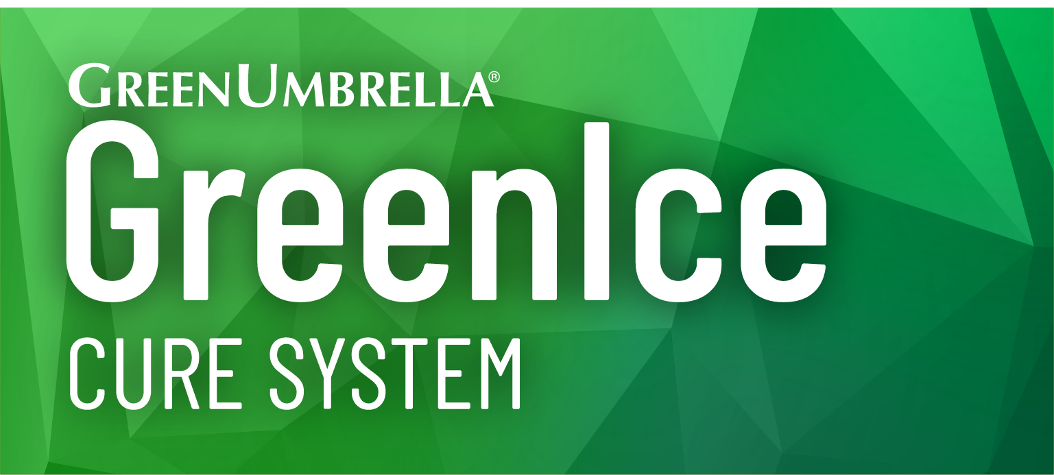 Green Ice Cure System Logo