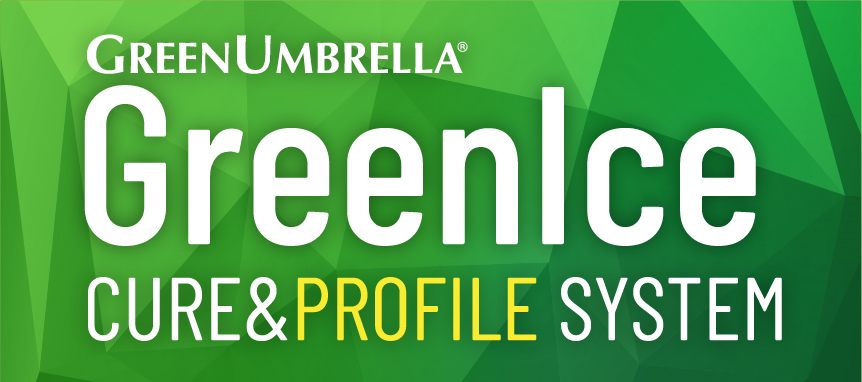 GreenIce Cure & Profile System Logo