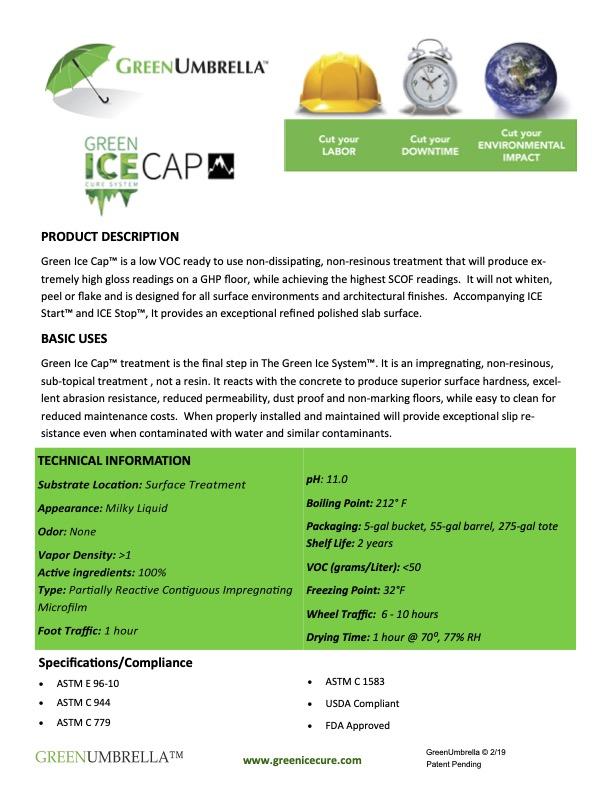 GreenIce IceCap TDS