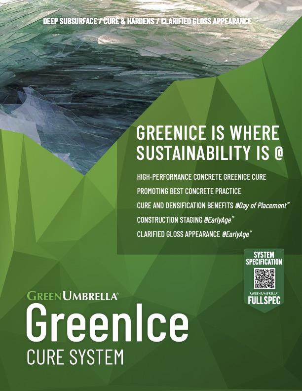 GreenIce Cure System CutSheet